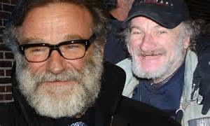 Robin Williams is morphing into Radio Man with his bushy ...