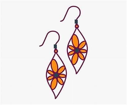 Clipart Earrings Clip Jewelry Ear Ring Clipartkey