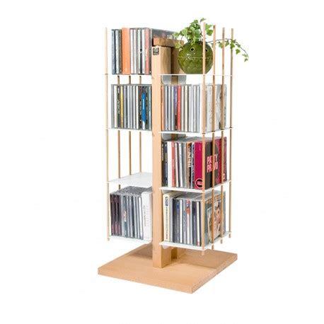colonna porta cd porta cd a colonna in legno naturale o nero 100 cd zia