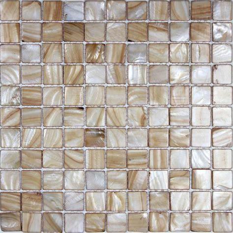tiling kitchen backsplash shell tiles 100 seashell mosaic of pearl 2819
