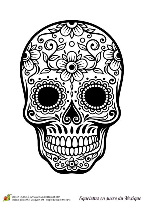 coloriage tete de mort my