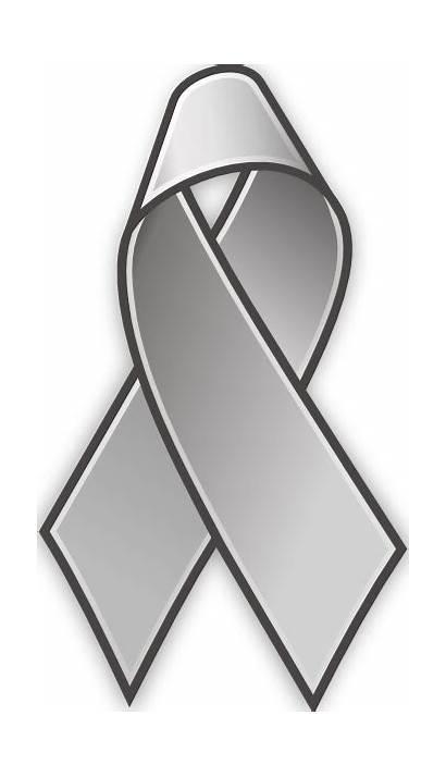 Ribbon Grey Clip Lace Clipart Gray Svg