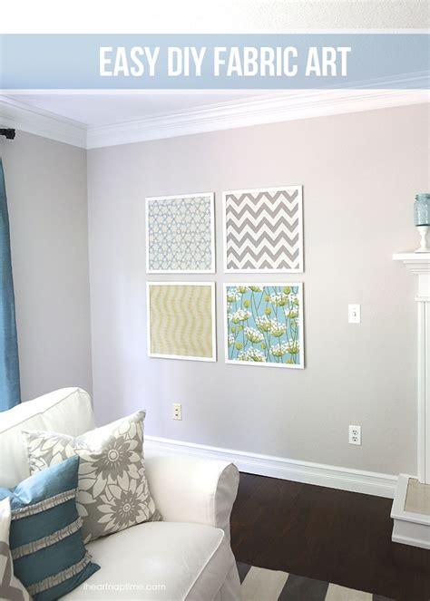 diy livingroom decor diy fabric art i heart nap time