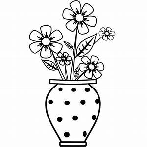Drawing clipart vase - Pencil and in color drawing clipart ...