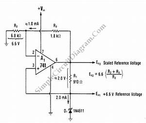 Voltage Reference  U2013 Circuit Wiring Diagrams
