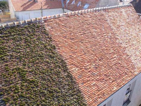 mousse sur toiture tuiles mdl nettoyage toiture morlaix 29600