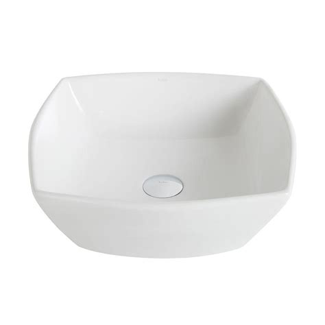 home depot kraus sink kraus elavo small round ceramic vessel bathroom sink in