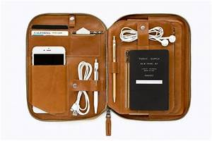 The Gorgeous Modular Leather IPad Case To Get You Organized