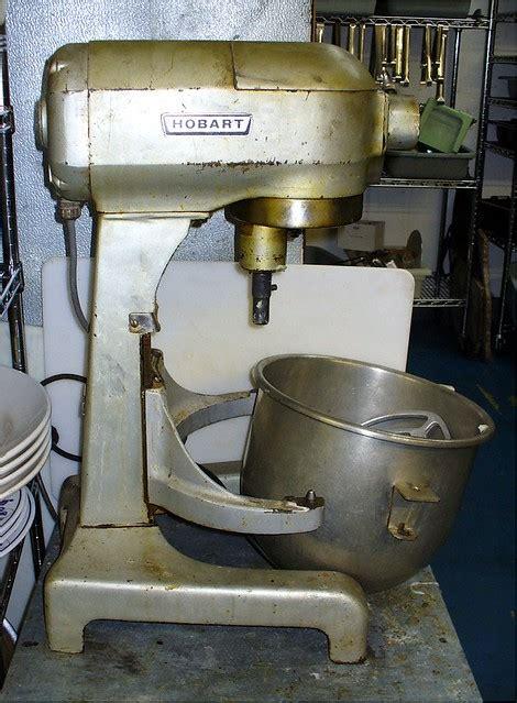 hobart model   commercial mixer precursor   kitc