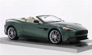 Aston Martin Miniature : aston martin vanquish miniature volante metallic verte tecnomodel 1 18 voiture ~ Melissatoandfro.com Idées de Décoration