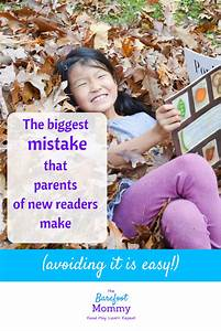 The biggest mistake that parents of new readers make - The ...