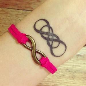 Tatouage Couple Original : tatouage infini signification id es et mod les inspirants ~ Melissatoandfro.com Idées de Décoration