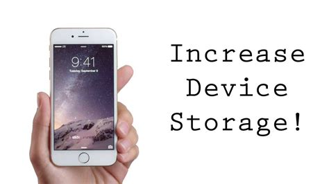 increase storage on iphone increase storage clean up your iphone ipod