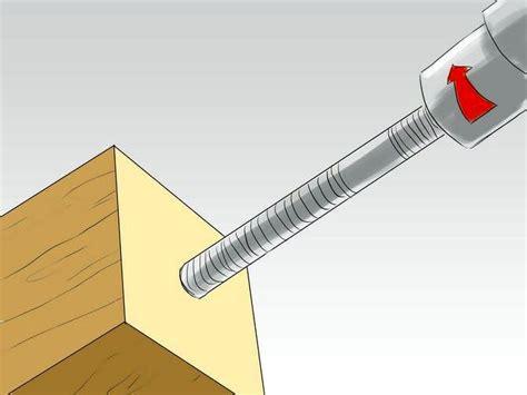 fabriquer un pied de le les m 233 thodes pour fixer les pieds de table