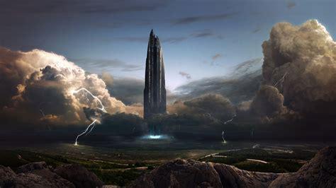 artwork, Fantasy Art, Digital Art, Spaceship, Storm ...