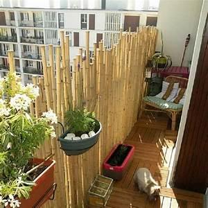 Bambou Brise Vue : brise vue balcon bambou accueil design et mobilier ~ Premium-room.com Idées de Décoration