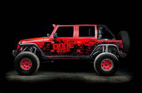bryces red hot ls jk dixie  wheel drive