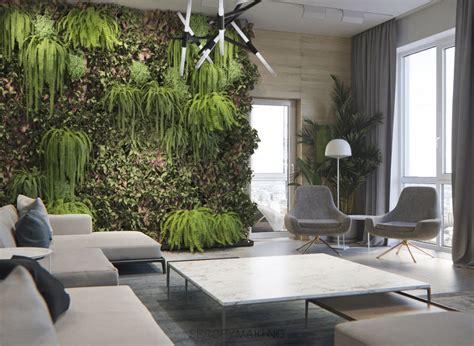 Minimalist Interior Design With Green