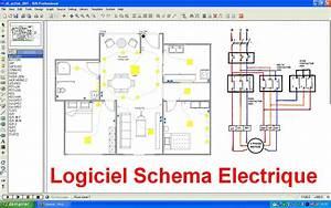 cuisine schema electrique branchement cablage comment With comment dessiner le plan d une maison
