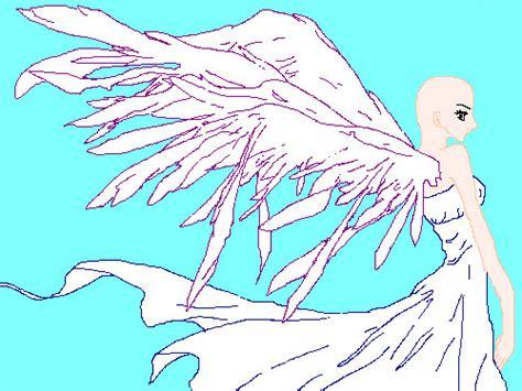 Angel Base By Nayrudreamcatcher On Deviantart