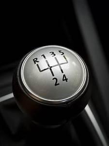 Car Gear Shift Manual Lever Stock Photo