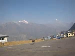 Lukla Airport Nepal
