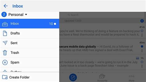 android mail app best email apps for android 6 to keep your inbox clutter