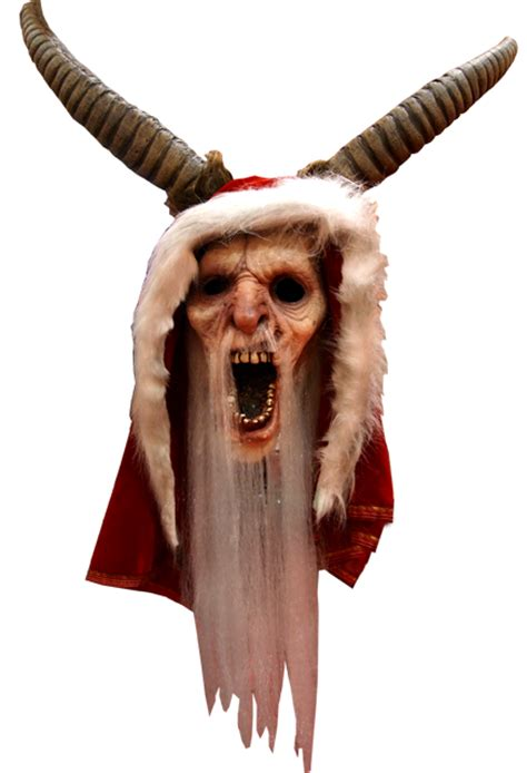 Purge Mask Halloween City by Michael Dougherty S Krampus Krampus Halloween Mask