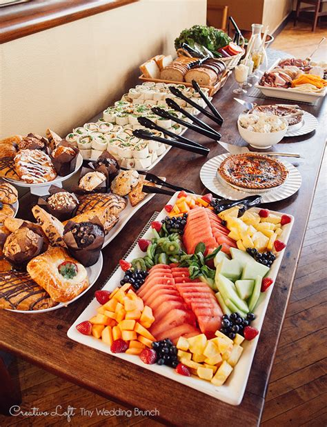 buffet cuisine pin chicago small wedding packages chicago small weddings