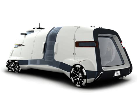 concept bus gmc pad futuristic rv joy enjoys
