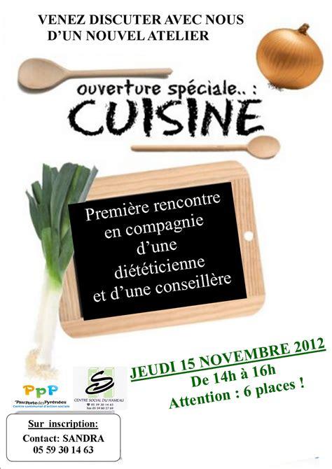 atelier cuisine centre social centre social du hameau pau atelier cuisine