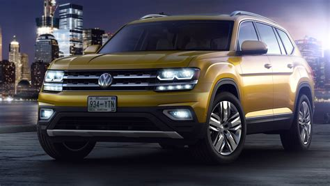 Volkswagen unveils new 2018 Atlas, its largest SUV for U.S.