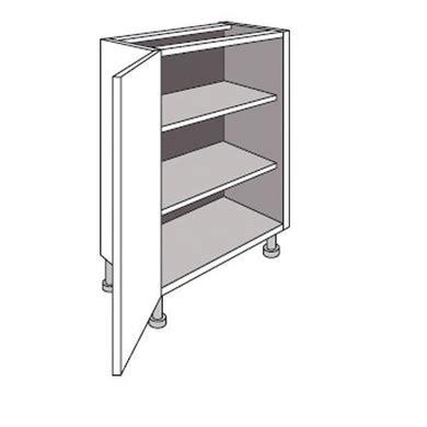 meuble bas cuisine 40 cm largeur meuble de cuisine bas faible profondeur 1 porte twist