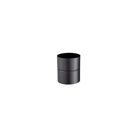 fumisterie poujoulat 56100138 adaptateurs 100 mm noir mat
