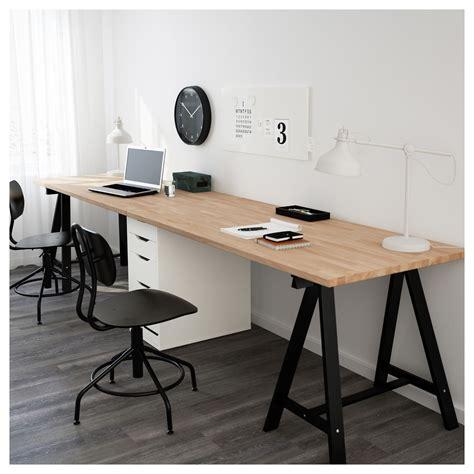 ikea tafel alex alex gerton tafel beuken zwart wit 310x75 cm ikea