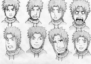 Character Facial Expressions by GeijutsuCentral on DeviantArt