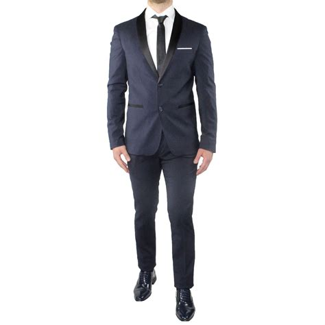 Le donne possono variare molto la propria mise a seconda dell'occasione. Abito Uomo Smoking Elegante Vestito Completo Estivo ...