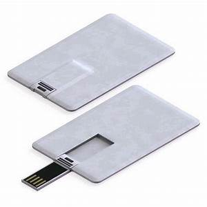 Credit card usb flash drive standard business card size for Business card usb flash drive