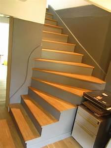 Marche D Escalier En Chene : nez de marche pour habillage d 39 escalier nez de marche en ch ne massif fabrication sur mesure ~ Melissatoandfro.com Idées de Décoration