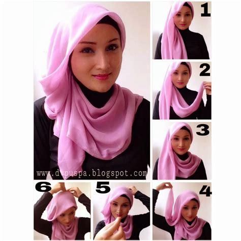beautiful  hijab styles  step  step