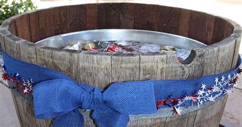 wine barrel tub wine barrel beverage tub hometalk