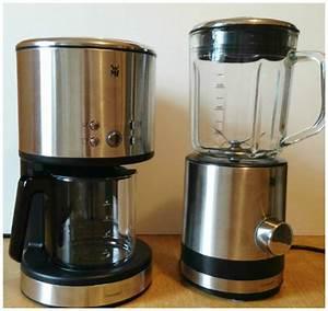 Wmf Mini Kaffeemaschine : wmf k chenminis kaffeefiltermaschine kompaktmixer im test genuss blog kaffee schokolade ~ Orissabook.com Haus und Dekorationen