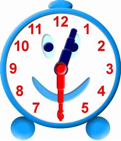 Clipart Twelve Clock Half Past Analog Clip