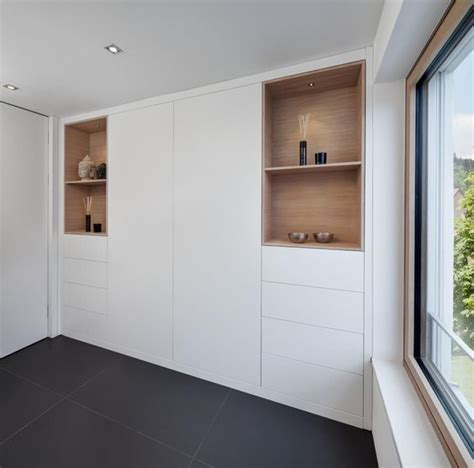 Lining Cupboards by White Lacquer Cabinets With Wood Lining Hoops Push Open