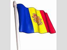 Super Bandera de Andorra Animada