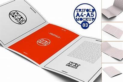 Brochure Fold Tri A5 Mock A4 Up03