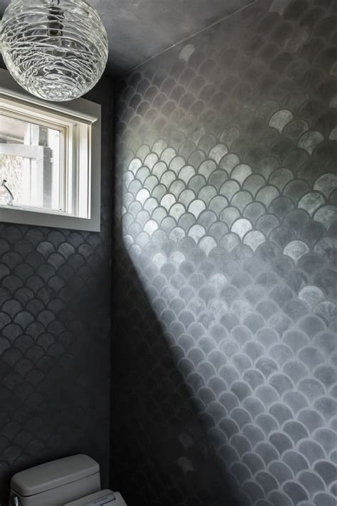 awesome designs  fish scale tile messagenote