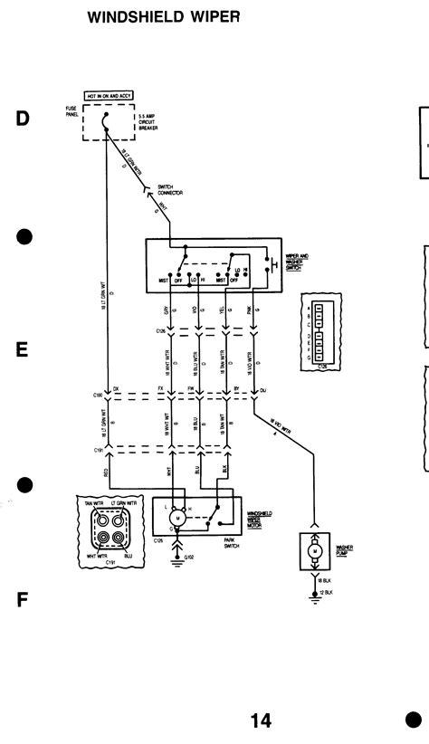 motor wiring 86 fsj wiringdiagrage3 1 j10 wiper motor