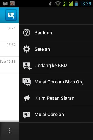 Cara Broadcast Bbm Android