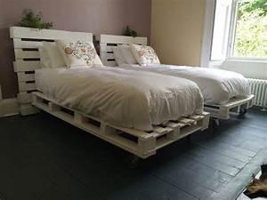 Comment Faire Un Lit En Palette : palette tete de lit affordable tete de lit palette differentes couleurs with palette tete de ~ Nature-et-papiers.com Idées de Décoration